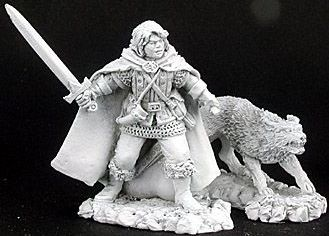 Cullen and Ash, Ranger and Wolf (2) (Discontinued), 65038 Reaper Miniatures, Inc.