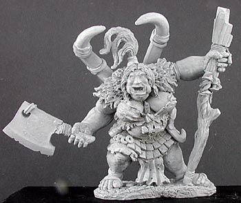 Talanka, Female Ogre Shaman (Discontinued), 65105 Reaper Miniatures, Inc.