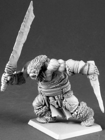 Frost Giant Warrior (Discontinued), 65111 Reaper Miniatures, Inc.