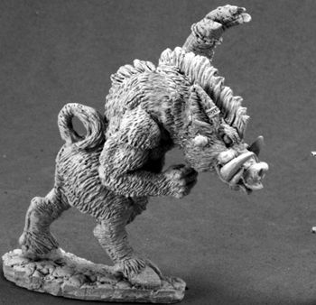 Wereboar (Discontinued), 65134 Reaper Miniatures, Inc.