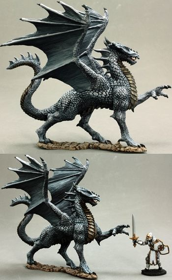 Silver Dragon (Discontinued), 65144 Reaper Miniatures, Inc.