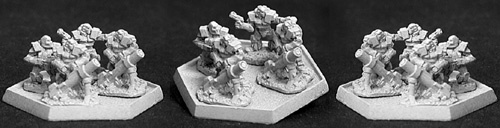 Heavy Infrantry w/heavy mortar (12) (OOP), 7062 Reaper Miniatures, Inc.