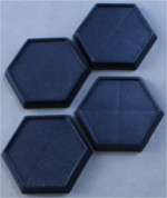 1 inch Hex Plastic Gaming Base (20)