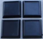"1"" Square Plastic Gaming Base (no slot)"