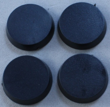 20mm Round Plastic Flat Top Base (25), 74041 Reaper Miniatures, Inc.