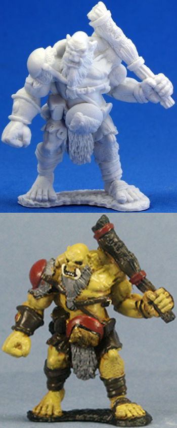 Ogre Chieftain, 77005 Reaper Miniatures, Inc.