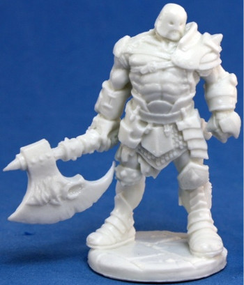 Anval Thricedamned, Evil Warrior, 77055 Reaper Miniatures, Inc.