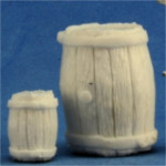 Barrels (large and small)