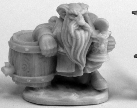 Dwarf Brewer, 77461 Reaper Miniatures, Inc.