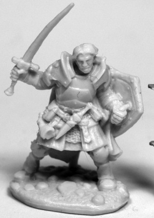 Rheagar, Male Fighter, 77467 Reaper Miniatures, Inc.