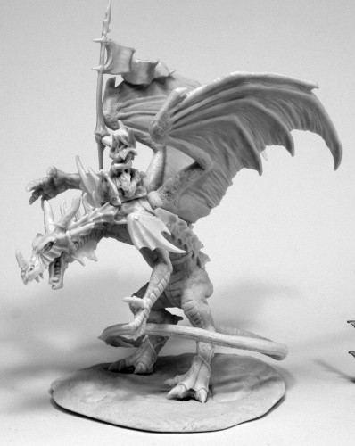 Kyra / Lavarath (Dragon and Rider), 77557 Reaper Miniatures, Inc.