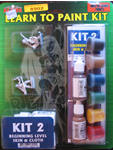 Learn to Paint Kit 2 - Skin and Cloth