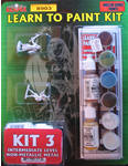 Learn to Paint Kit 3 - Non Metallic Metals (Discontinued)