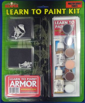 Learn to Paint Kit 5 - Armor (Discontinued), 8905 Reaper Miniatures, Inc.