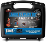 Reaper BONES Learn to Paint Kit:  Layer Up! Base Coats, Layering, and Glazing