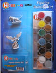 Hobby Que Learn to Paint Set - Figurine Painting Kit (Discontinued)