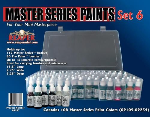 Master Series Expansion Set (109-216+), 9957 Reaper Miniatures, Inc.