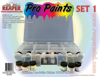 Pro Paint Set 1 (19001 - 19054) (Discontinued), 9958 Reaper Miniatures, Inc.