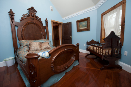 Bay Room, any night, including Fri or Sat Night, BnB-anynight-Bay-Bedroom Millsap-Baker Estate