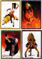 Art of Dave Nestler Promotional Card Set (4)