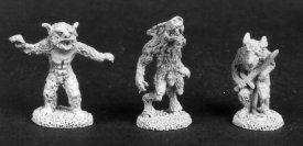 Lycanthrope Pack (Discontinued), DD1809 Reaper Miniatures, Inc.