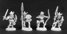 Skeleton Warrior Pack (Discontinued), DD1813 Reaper Miniatures, Inc.
