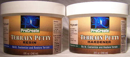 Terrain Putty, KM101 KraftMark