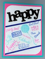 Birthday, Happy Grouping Stamping