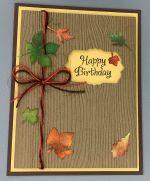Birthday, Autumn Bark