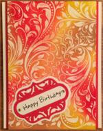 Birthday, Paisley Tie Dye