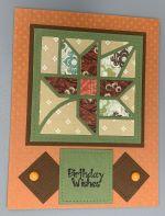 Birthday, Autumn Leaf Quilt