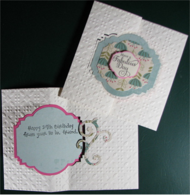 Birthday Female, Flip It Fabulous, Laura-Birth-F111-FI Cards by Laura