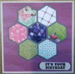 Birthday, Hexagon Quilt