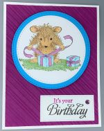 Birthday Female, House Mouse Wrapping