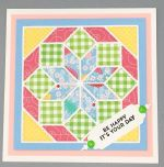 Birthday Female, Flowerburst Quilt, Pink