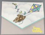 Birthday Female, Kite Flying Bunny