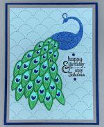 Birthday Female, Fabulous Peacock