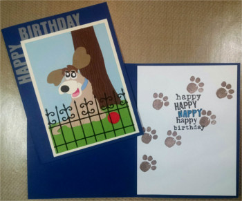 Birthday Kid, Doggie, Laura-Birth-K100 Cards by Laura