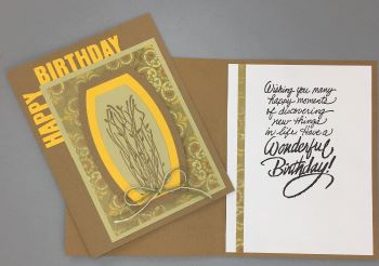 Birthday Male, Desert Plant, Laura-Birth-M107 Cards by Laura