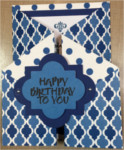 Birthday, Male, Gate Fold, Birthday in Royal