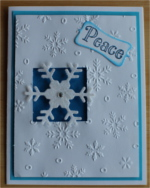 Christmas, Snowflake, Peace