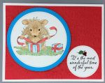 Christmas, House Mouse Wrapping
