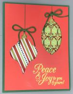 Christmas, Ornament Cutouts-Green
