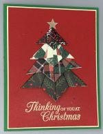 Christmas, Origami Christmas Tree