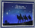 Christmas, Wise Men Silhouette