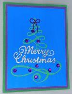 Christmas, Loopy Tree Swirl, Christmas Tree