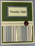 Dad, Olive Wainscoting
