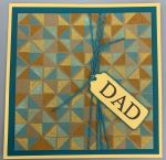 Dad, Turnabout Triangle, Aqua