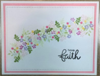Encouragement, Faith, Tiny Flower Garland, Fears Cease