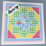 Encouragement, Flowerburst Quilt, Pink